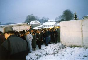 Grenzöffnung in Mödlareuth