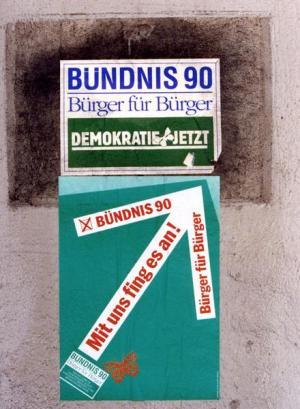Bündnis 90-Plakate