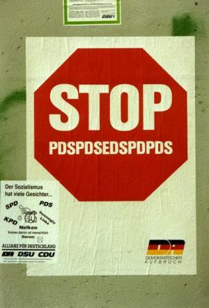 "DA-Plakat ""Stop"""