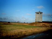 Wachtturm im Grenzstreifen