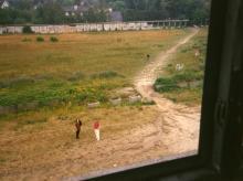 Blick in den ehemaligen Grenzstreifen