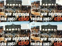 """CDU-Plakate """"Wir Deutschen"""""""