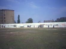 Hinterlandmauer im ehemaligen Grenzstreifen